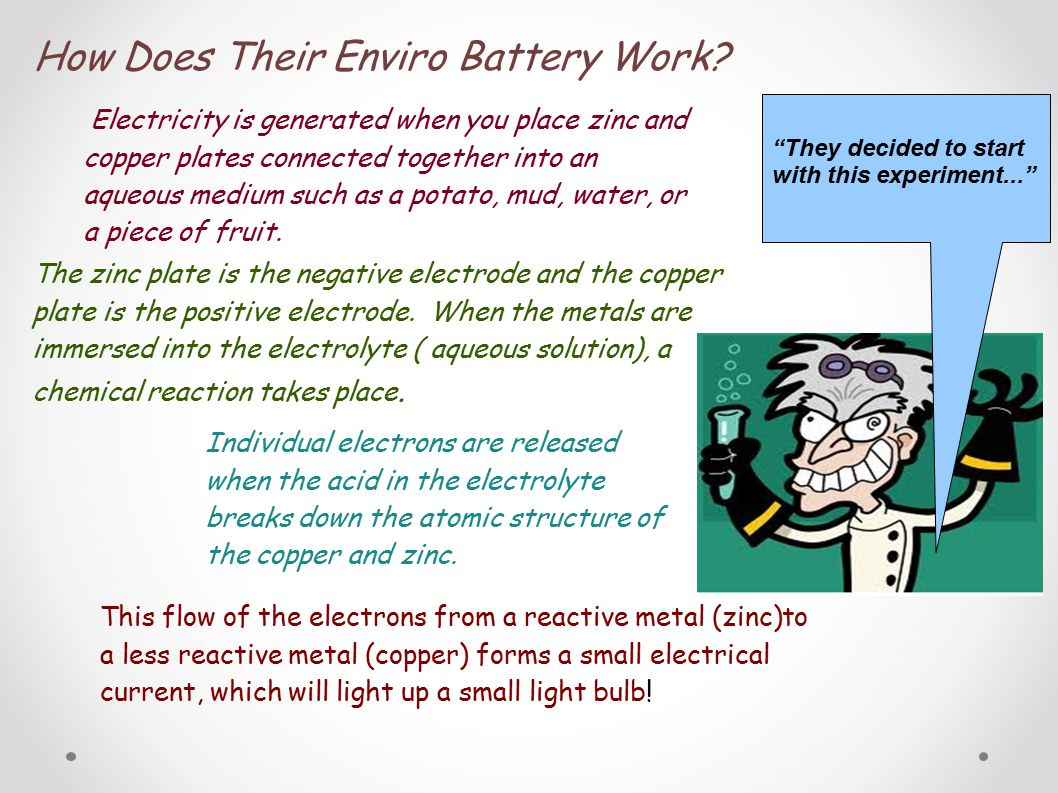 How Does Their Enviro Battery Work.