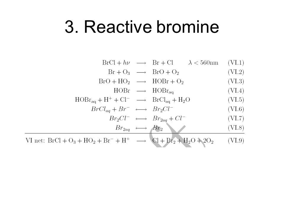 3. Reactive bromine