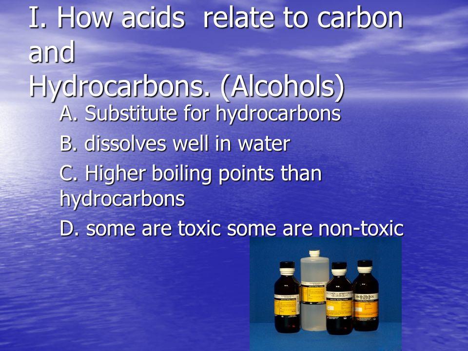 Alcohols and Organic Acids Team 7 Eli Ortiz and Heather Deaton