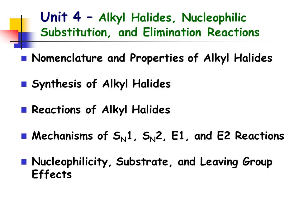 Alkyl Halides Alkyl halide: a compound with a halogen atom bonded to one of the sp 3 hybridized carbon atoms of an alkyl group Two types of names: IUPAC system Common names