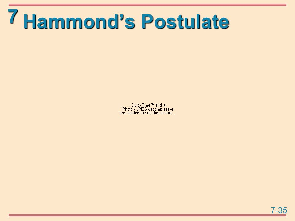 7-35 7 Hammond's Postulate