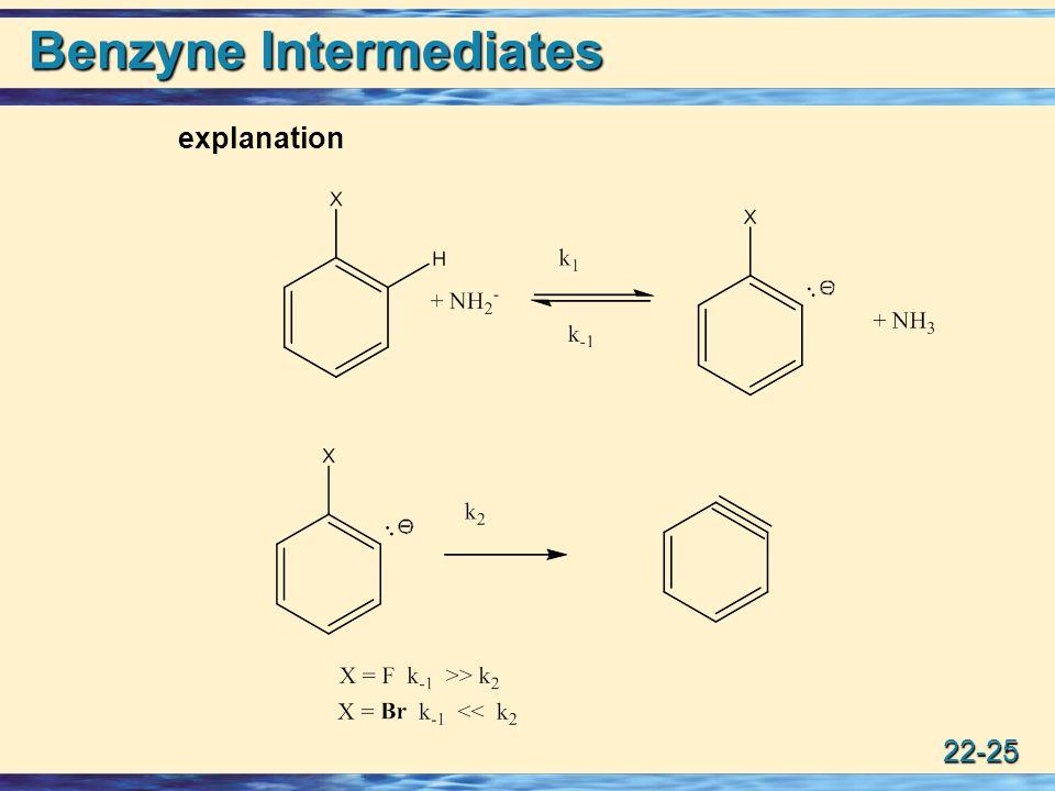 22-25 Benzyne Intermediates explanation