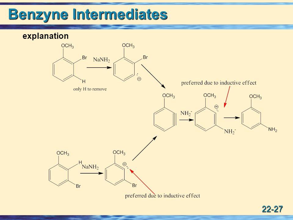 22-27 Benzyne Intermediates explanation
