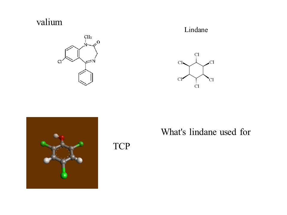 valium TCP What s lindane used for