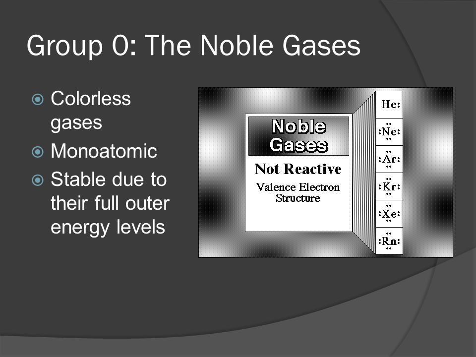 Group 1: Alkali Metals  Physical Properties: Soft, malleable - easily cut with a knife Low densities Low melting points Good conductors of electricity Can you explain these properties based on their atomic structure?