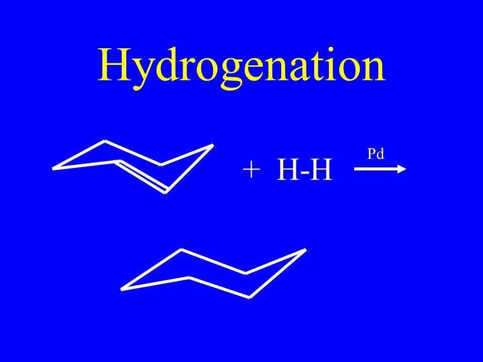 Hydrogenation + H-H Pd