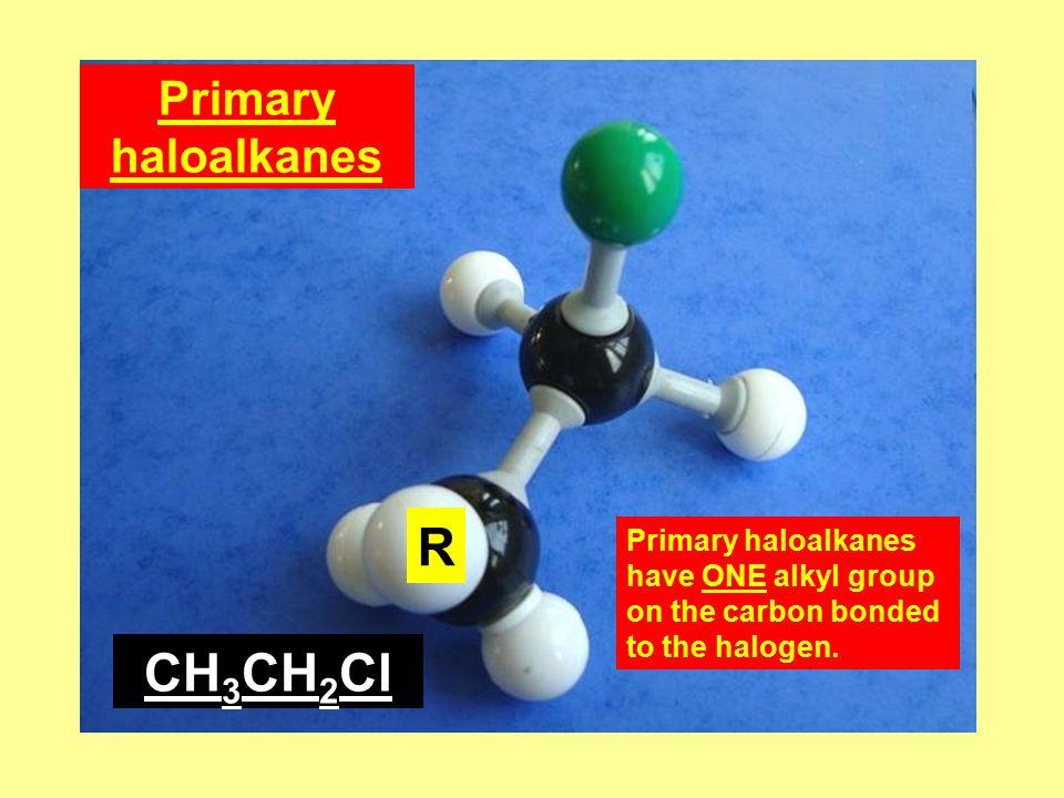 3) Solubility in non- polar solvents.Haloalkanes are readily soluble in non-polar solvents.
