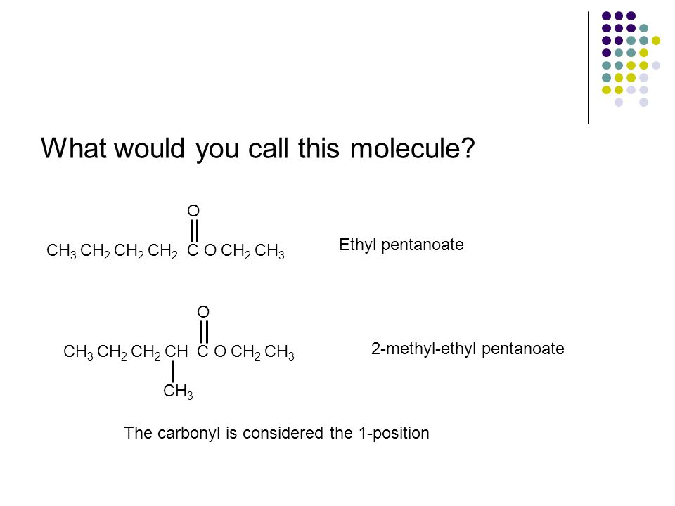 What would you call this molecule.