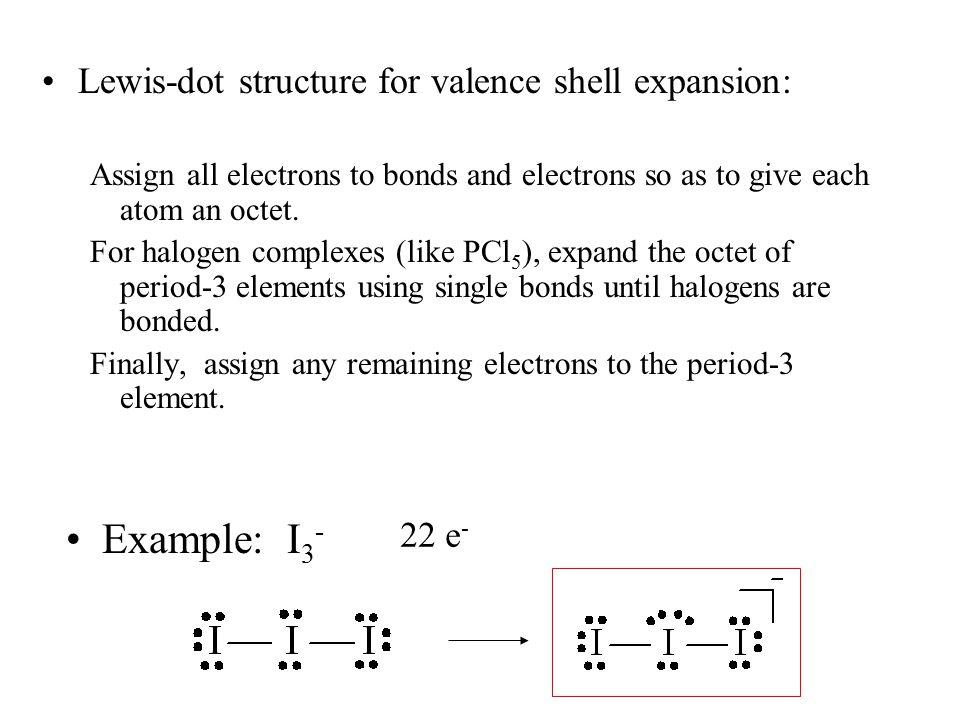 Bonding in molecules containing nobel-gas atoms involves valence shell expansion A famous example: XeO 3 26 e - +3 0 +2 0 0 +1 0 0 0 0