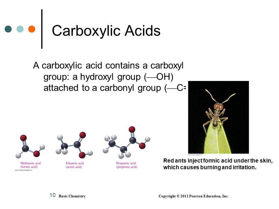 Basic Chemistry Copyright © 2011 Pearson Education, Inc.