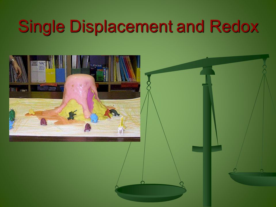 Single Displacement and Redox
