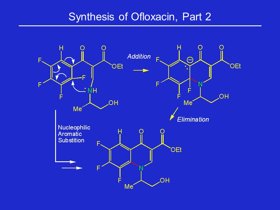 Synthesis of Ofloxacin, Part 2