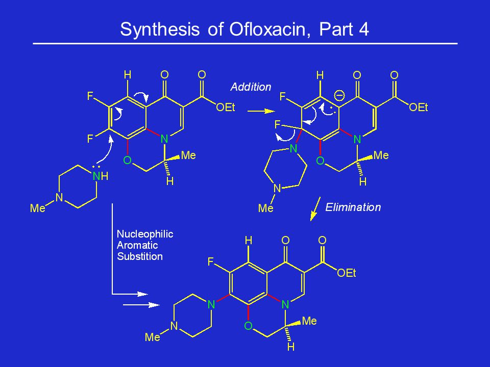 Synthesis of Ofloxacin, Part 4