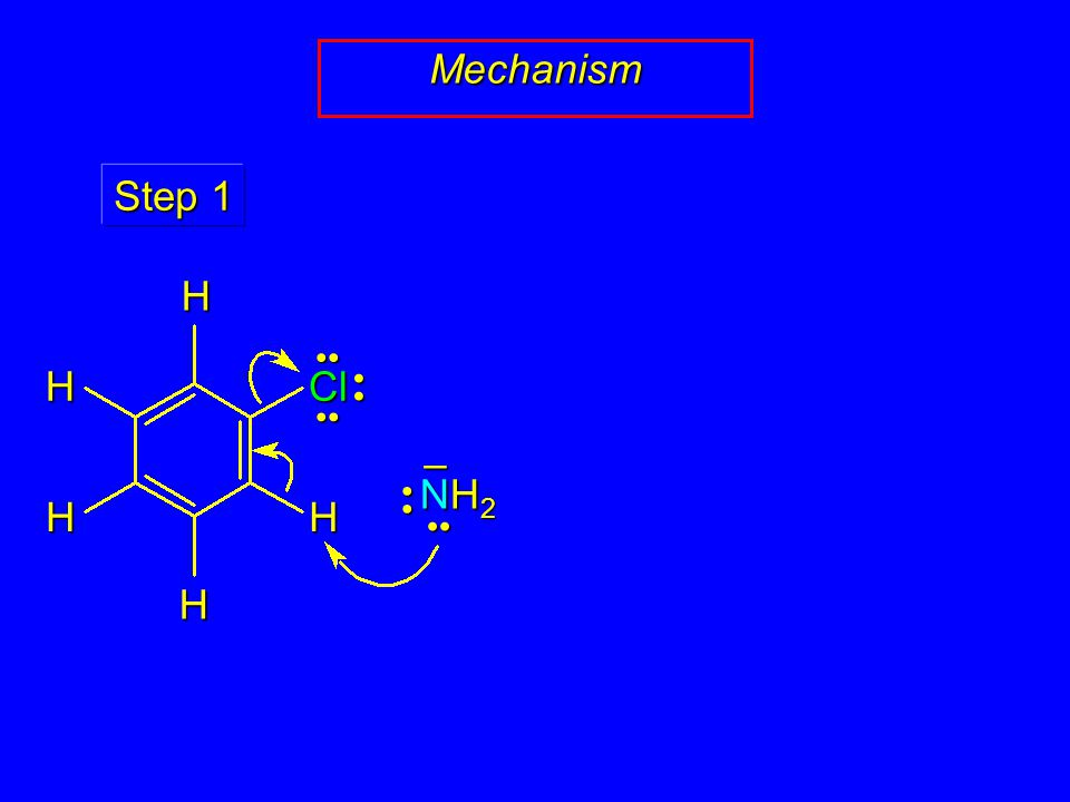 Mechanism NH2NH2NH2NH2 – Step 1 HH H H Cl H