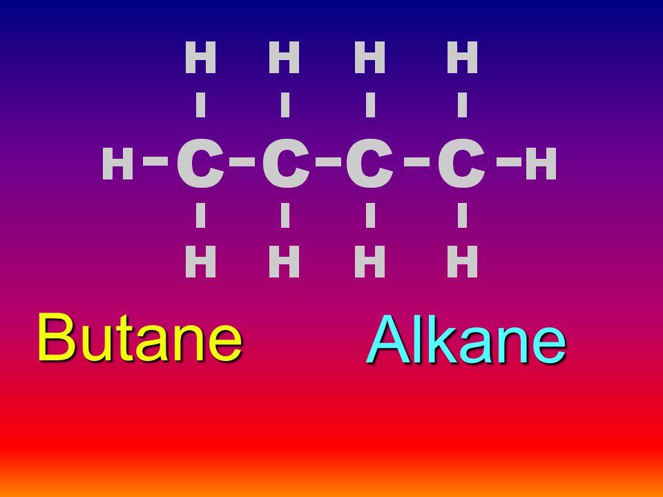 Butane Alkane