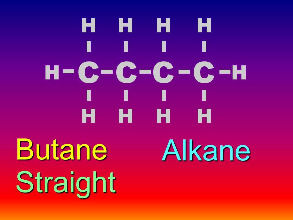 Butane Alkane Straight