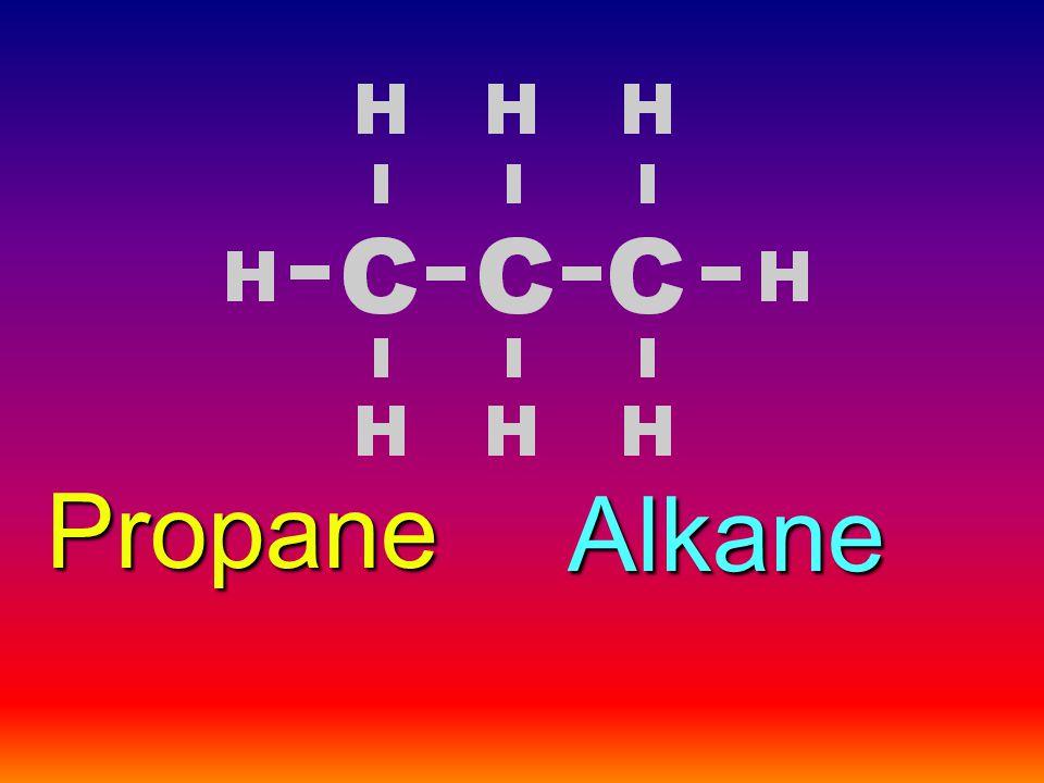 Alkane Propane