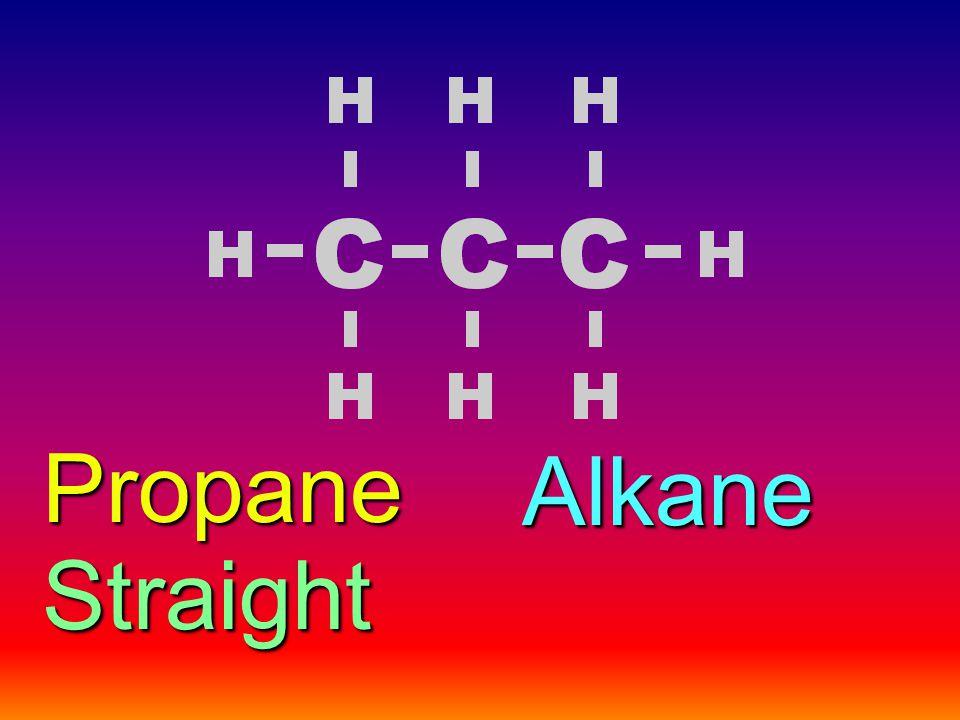 Alkane Straight Propane
