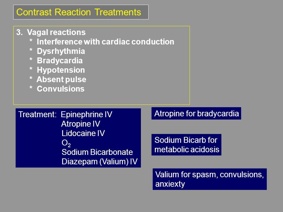 Contrast Reaction Treatments 3.