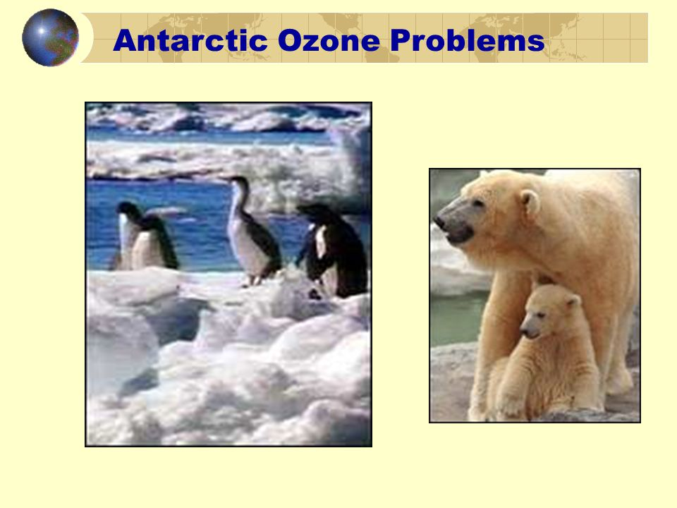 Antarctic Ozone Problems