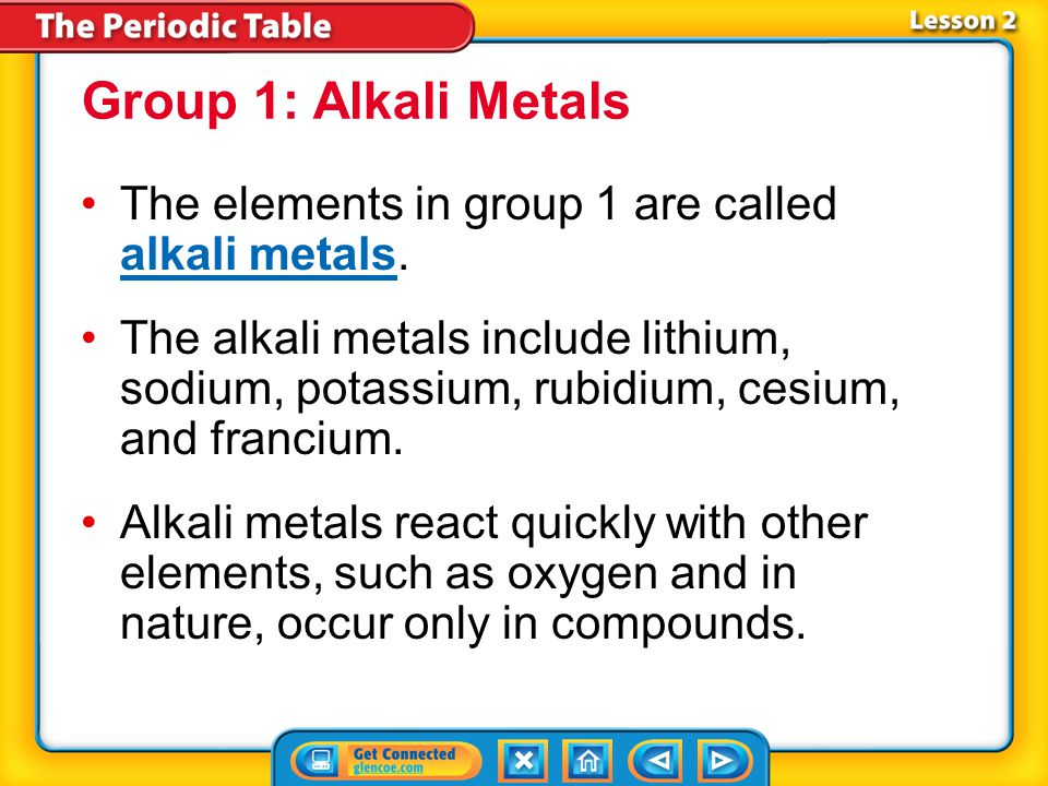 Lesson 2-1 What is a metal? (cont.) What are some physical properties of metals?