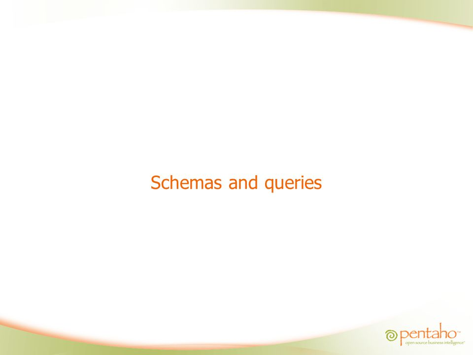 Schemas and queries