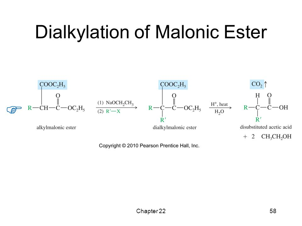 Chapter 2258 Dialkylation of Malonic Ester