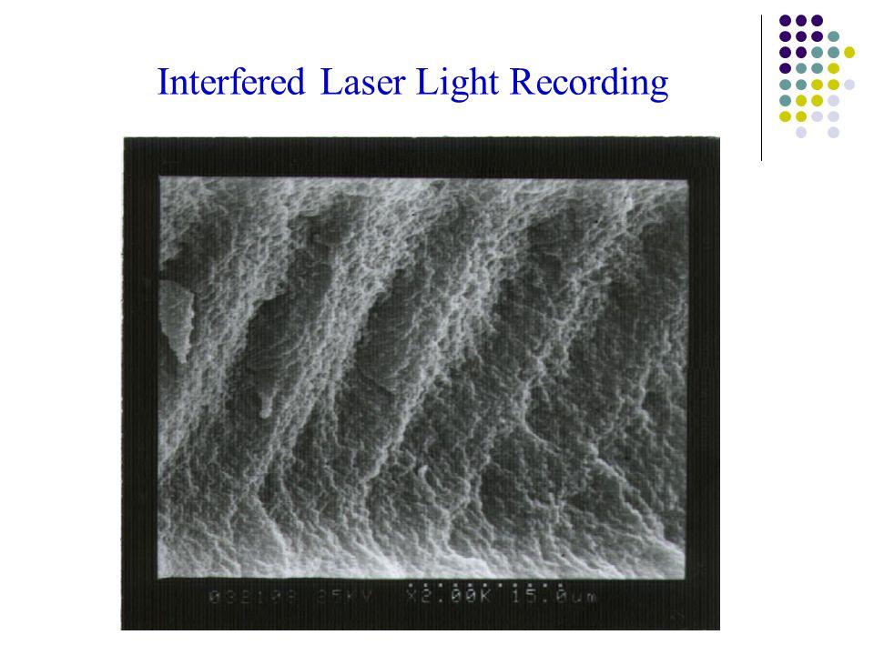 Interfered Laser Light Recording