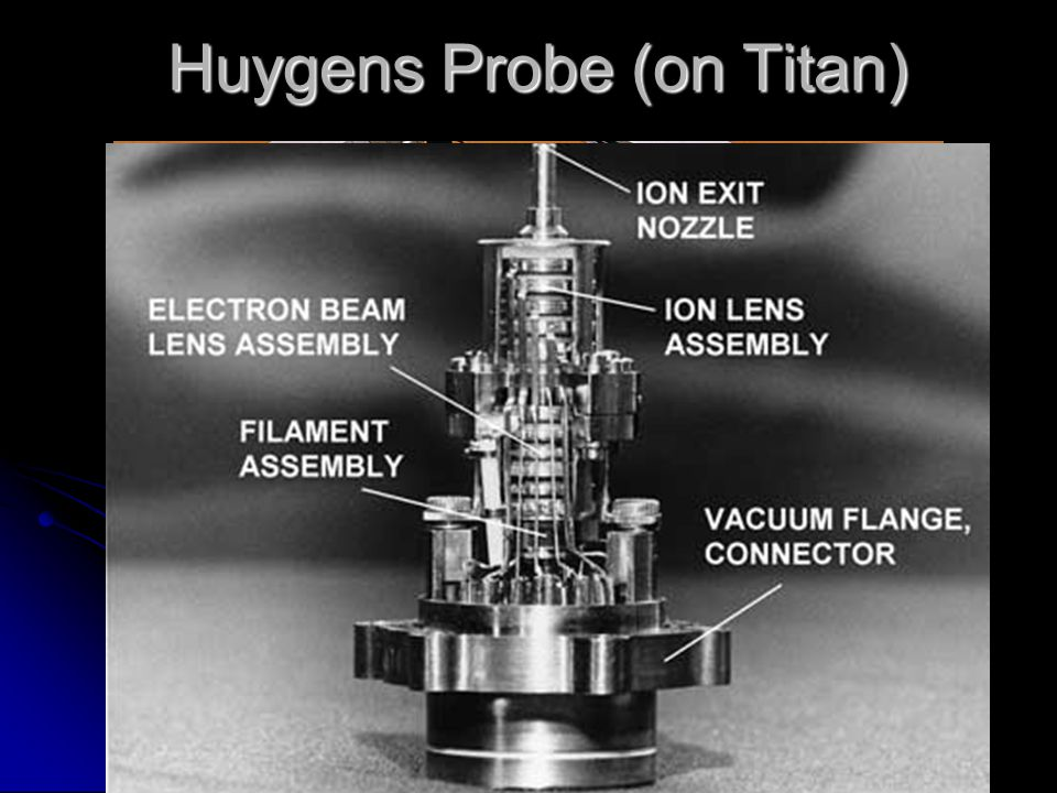 Huygens Probe (on Titan)