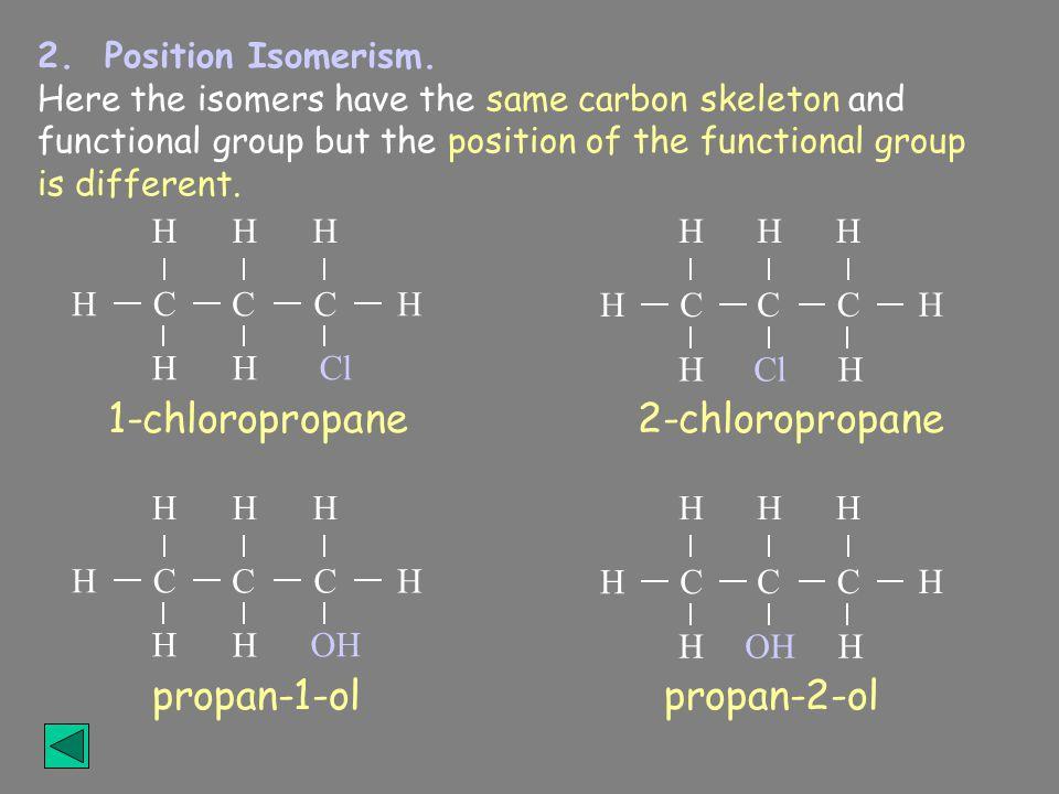 2.Position Isomerism.