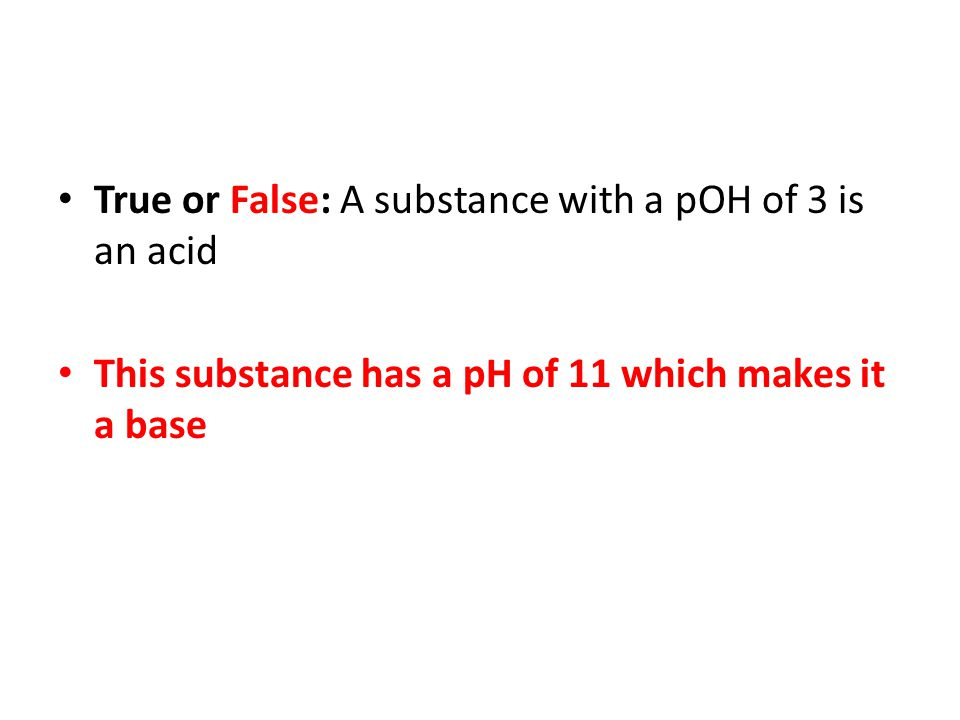 This substance has a pH of 11 which makes it a base