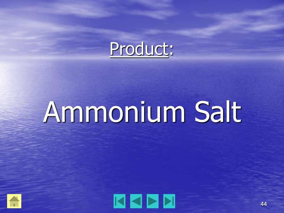 44 Product: Ammonium Salt