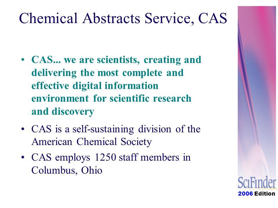 2006 Edition CAS...