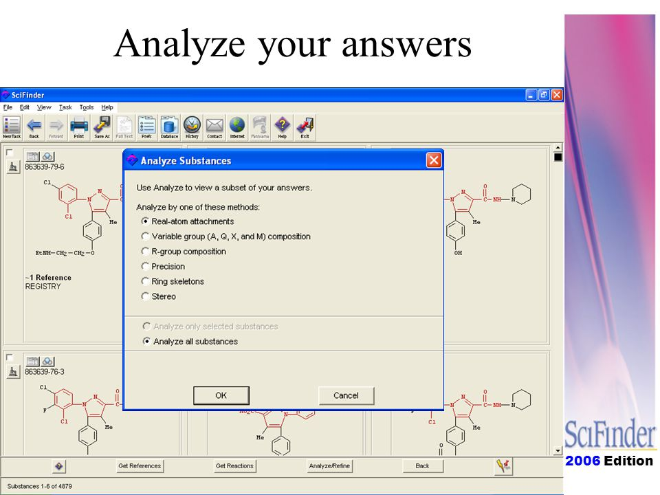 2006 Edition Analyze your answers