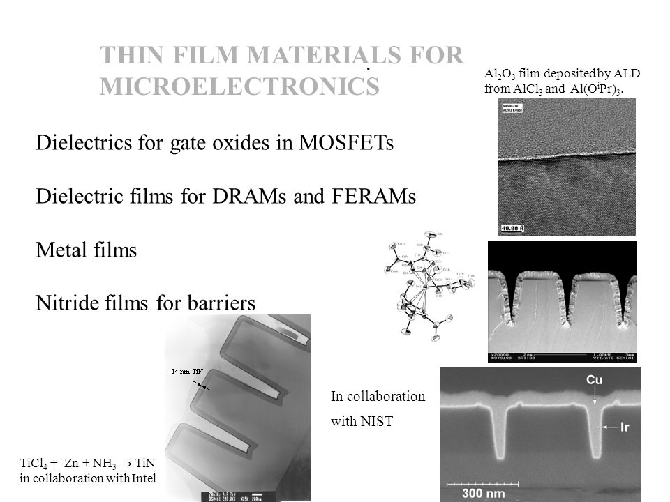 INORGANIC IX MATERIALS: ION SIEVES FOR HIGHLY SELECTIVE RADIONUCLIDE SEPARATIONS EXAMPLES: