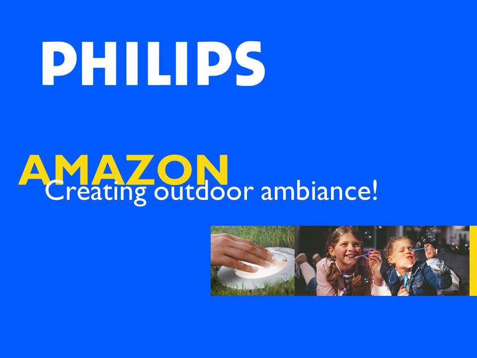 AMAZON Creating outdoor ambiance!