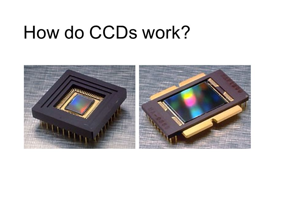 How do CCDs work