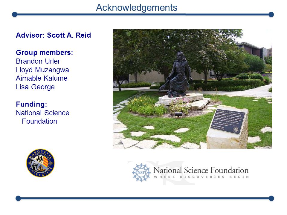 Acknowledgements Advisor: Scott A.