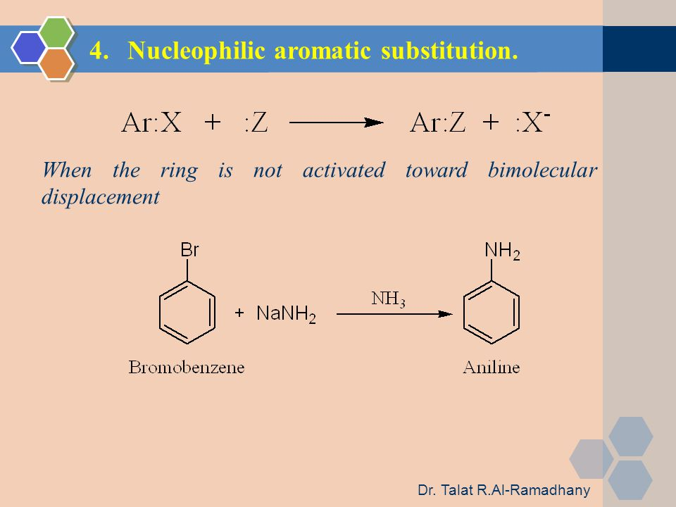 4.Nucleophilic aromatic substitution.