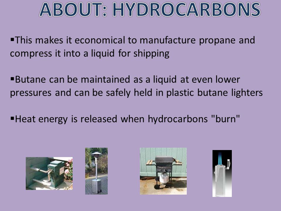 almost all hydrocarbon products are produced from petroleum or crude oil extracted from the earth origin of petroleum is believed to be from the anaerobic decomposition of marine plankton and algae crude oil is a variable mixture of many hydrocarbons and other chemicals.