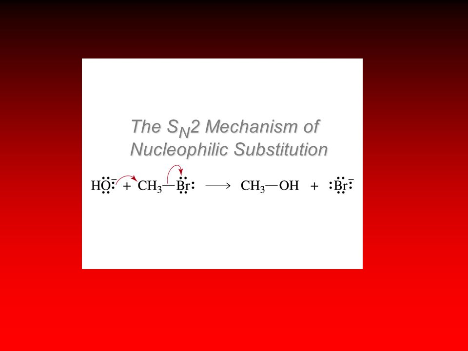 The S N 2 Mechanism of Nucleophilic Substitution