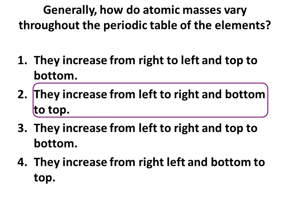 Which of the following ordered pairs of elements shows an increase in atomic number but a decrease in average atomic mass.
