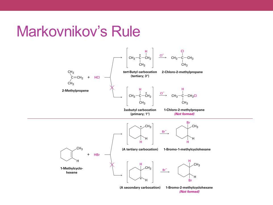 Markovnikov's Rule