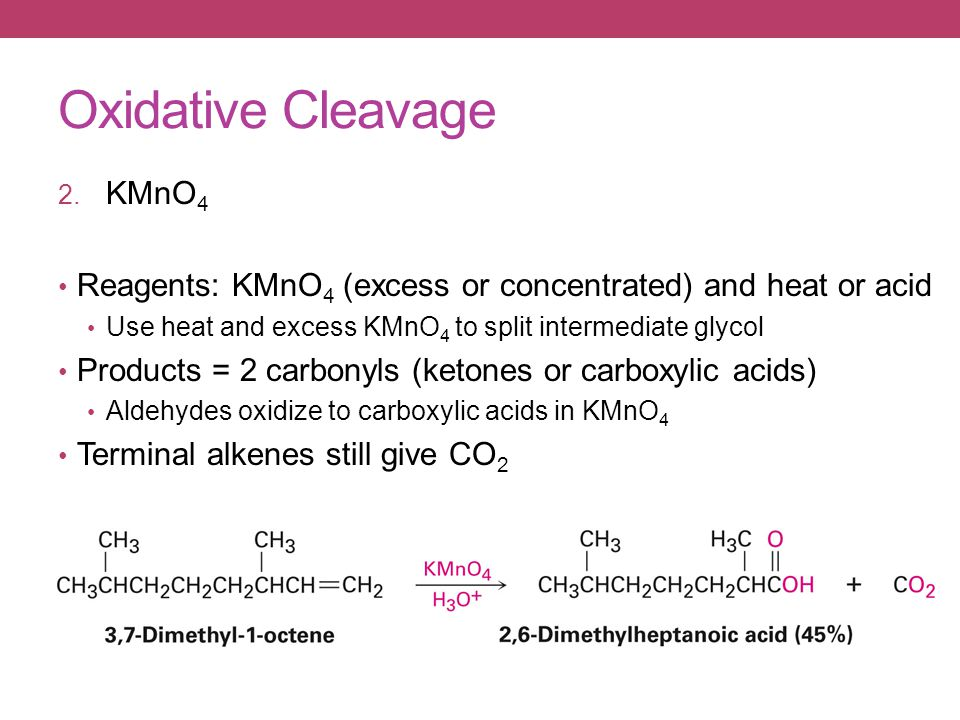 Oxidative Cleavage 2.