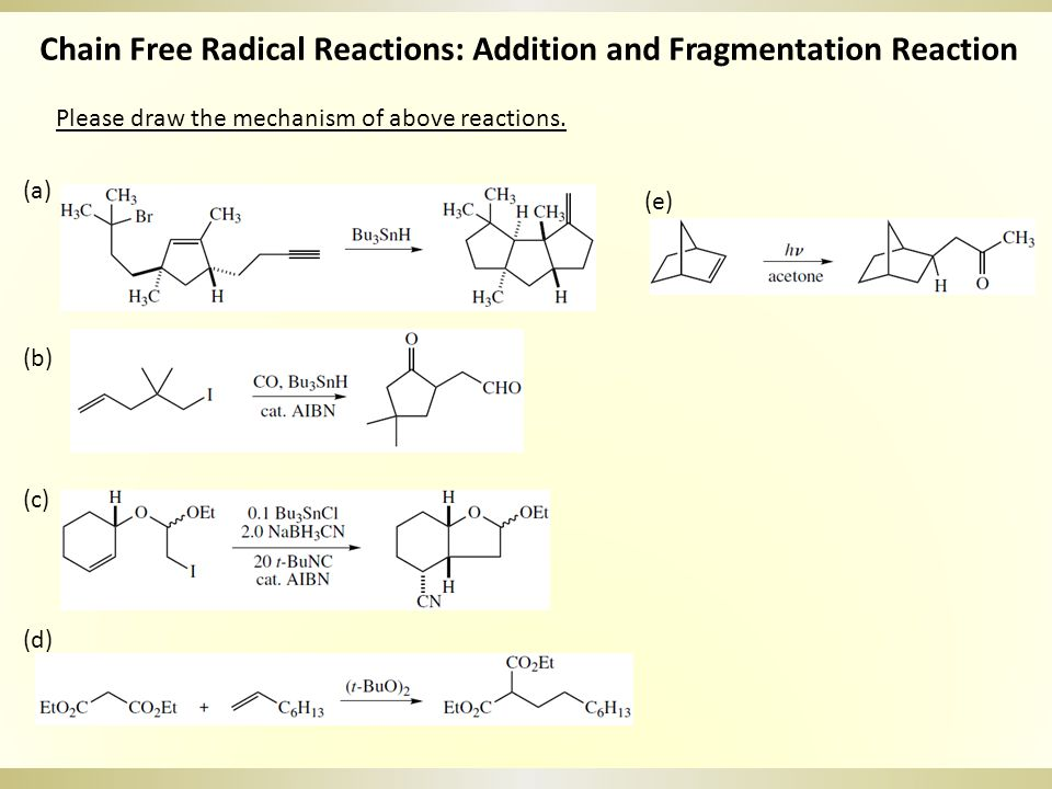Please draw the mechanism of above reactions.
