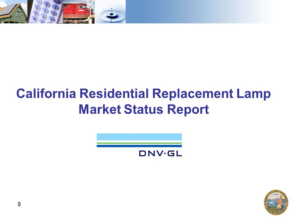 California Residential Replacement Lamp Market Status Report 9