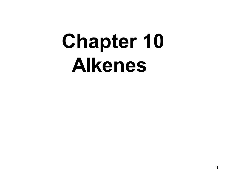 22 Addition Reactions to Alkenes