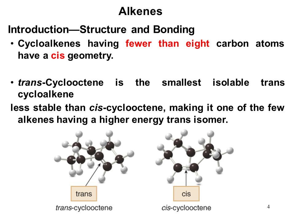 55 Alkenes Hydroboration—Oxidation BH 3 can react with three equivalents of alkene to form a trialkylborane.