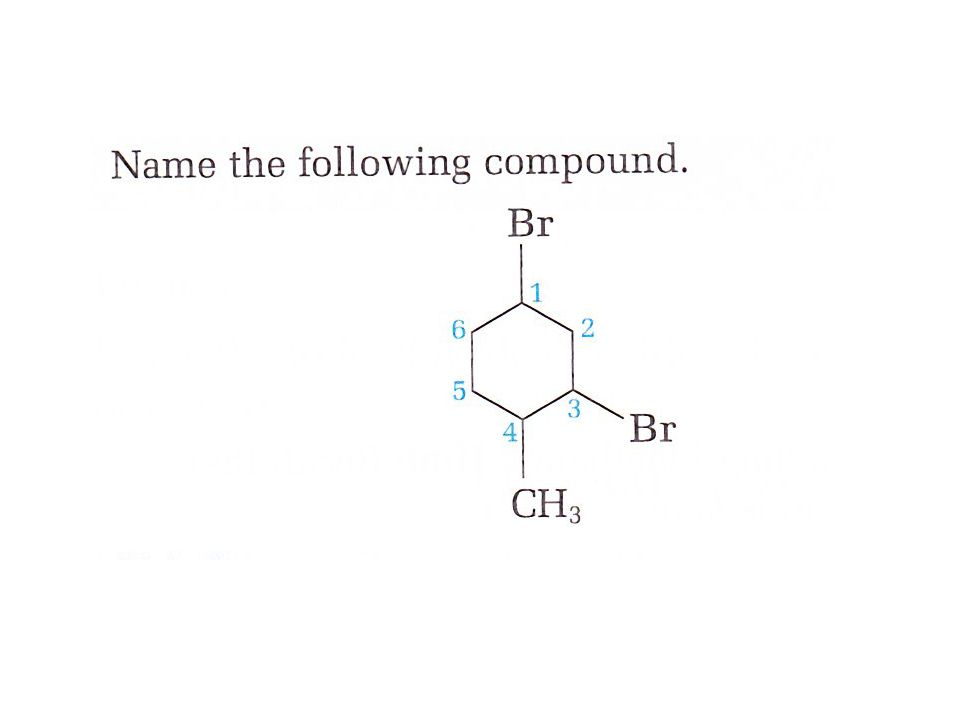 Step 3 Add a position number before the root name to indicate the location of the — group OH (Remember to number the main chain of the hydrocarbon so that the hydroxyl group has the lowest possible position number Step 4 Name and number any other branches on the main chain.