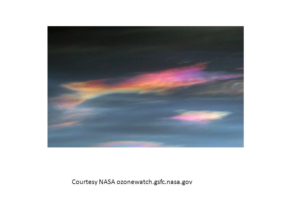 Courtesy NASA ozonewatch.gsfc.nasa.gov